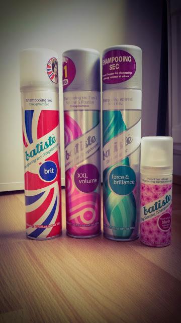 shampoings secs batiste