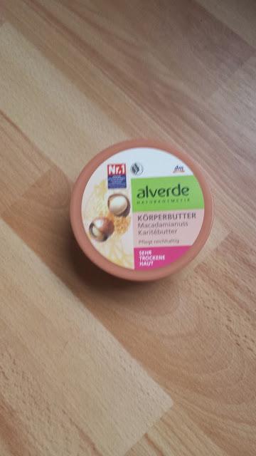 beurre corporel alverde
