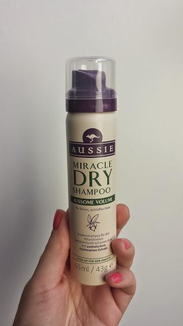 shampoing sec aussie