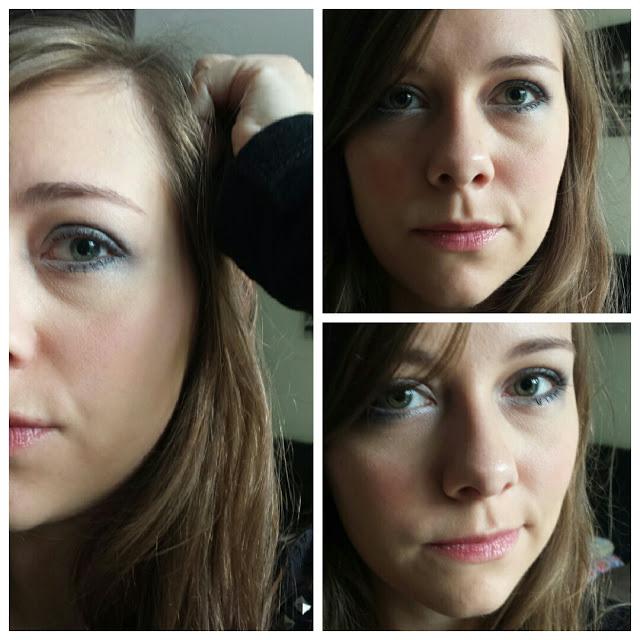maquillage Grey smokey eyes