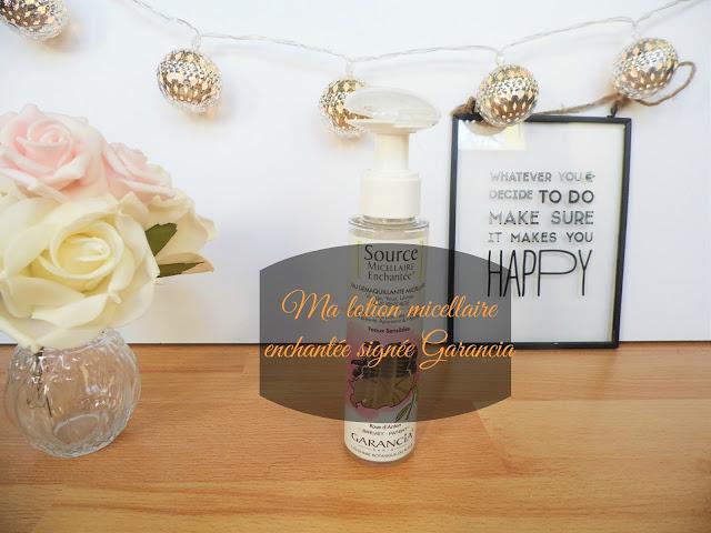 lotion micellaire enchantée Garancia