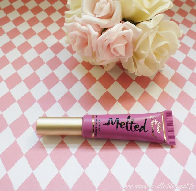 too faced melted fig