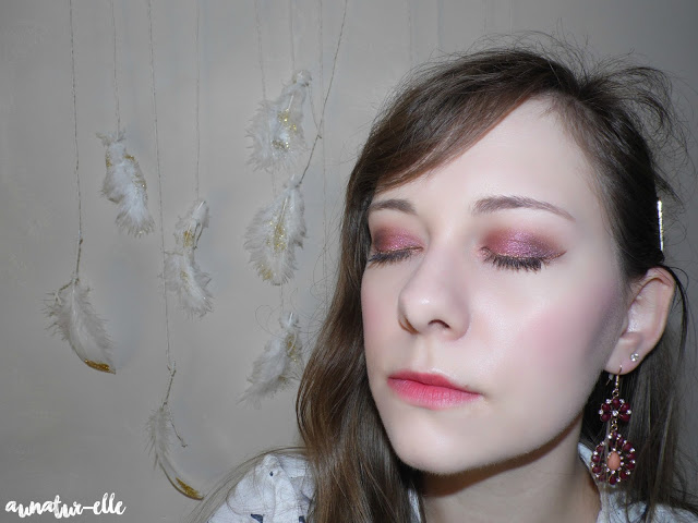 maquillage prune