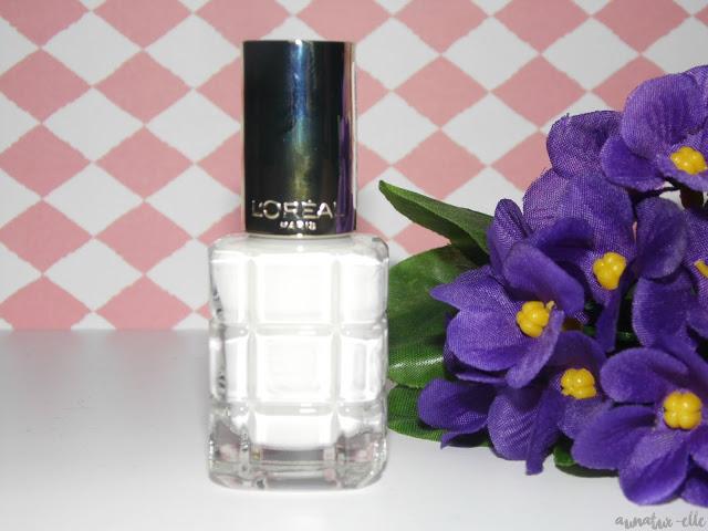 vernis blanc à l'huile l'oréal