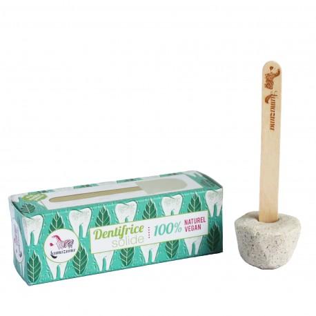 dentifrice solide naturel et vegan Lamazuna