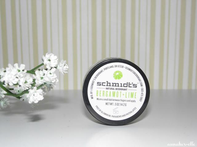 schmidt's bergamote + lime