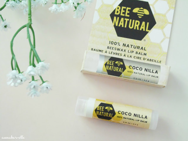 lipbalm bee natural coco nillla