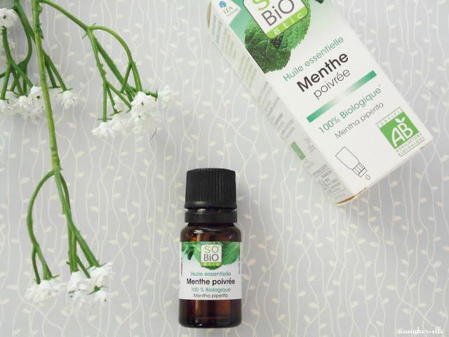 huile essentielle de menthe poivrée so bio étic