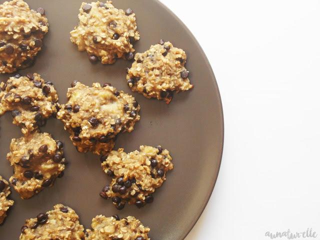 Ma recette de cookies healthy aux flocons d'avoine