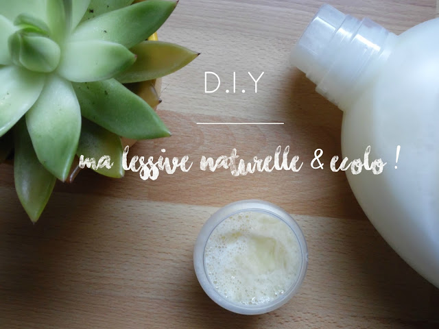 DIY : ma lessive maison, naturelle & écolo !