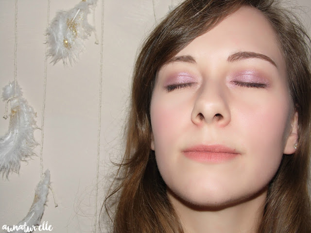 Monday shadow challenge - vieux rose