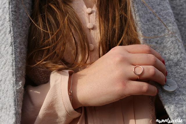 bijoux rose gold