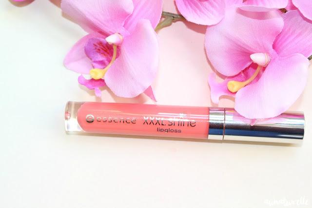 MSC - un maquillage lumineux avec la couleur saumon