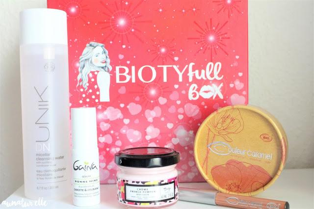 box beauté bio naturelle pour femme