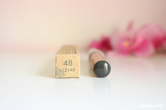 crayon yeux gris, bio couleur caramel