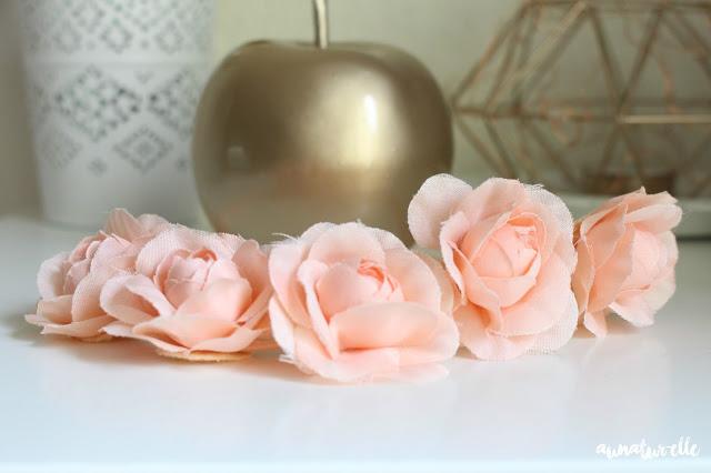 headband à fleurs