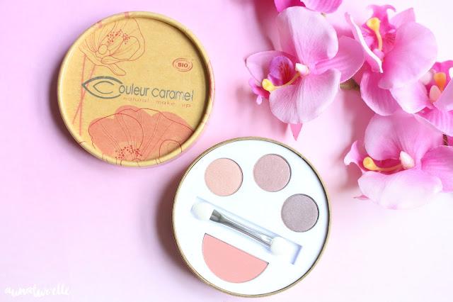 avis palette de maquillage couleur caramel