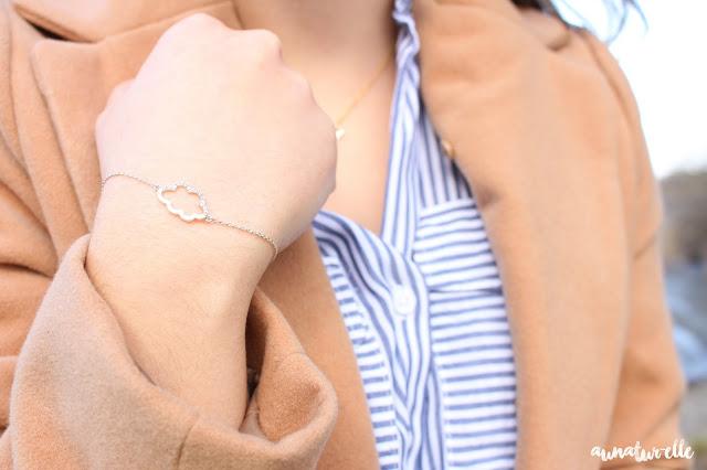 bijoux nuage bracelet argenté