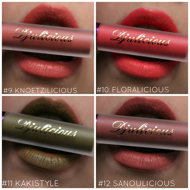 Dulcematte by Djulicious : swatchs