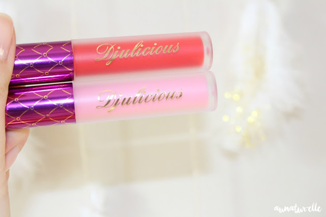 Dulcematte by Djulicious, Julie world of beauty : avis & swatchs