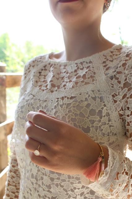 blouse dentelle femme romantique