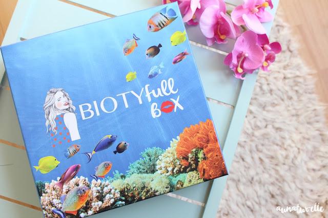 box beauté naturelle et bio, biotyfull box