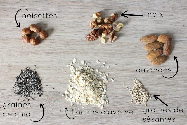 granola healthy maison