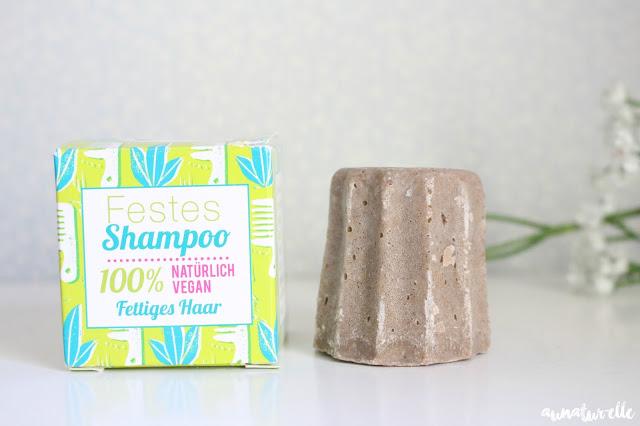 shampooing solide cheveux gras à la litsée citronnée Lamazuna