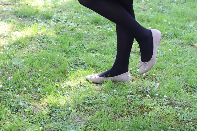 ballerine couleur taupe