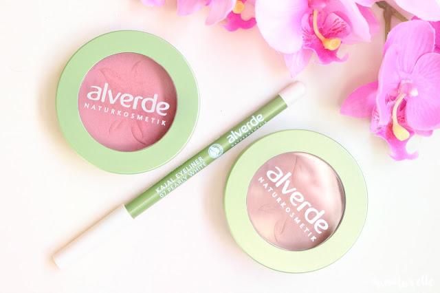 maquillage naturel alverde