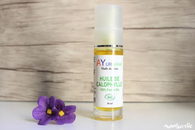 huile végétale de calophylle 100% pure et bio