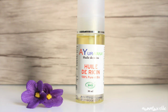 huile végétale de ricin 100% pure et bio