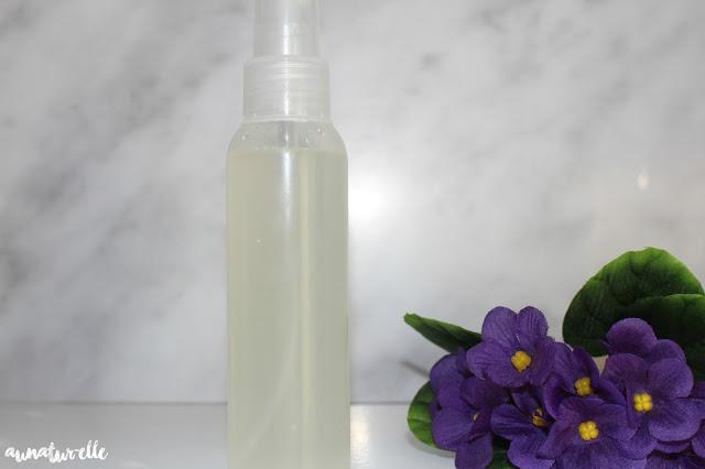DIY : spray protecteur de chaleur rapide et facile