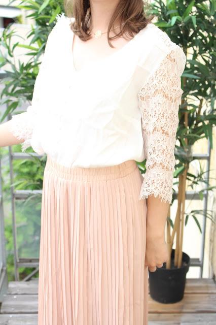 tendance jupe longue plissée