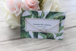 """bracelet argenté """"nuage"""""""