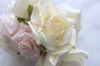 """collier rose gold """"Rosa"""""""