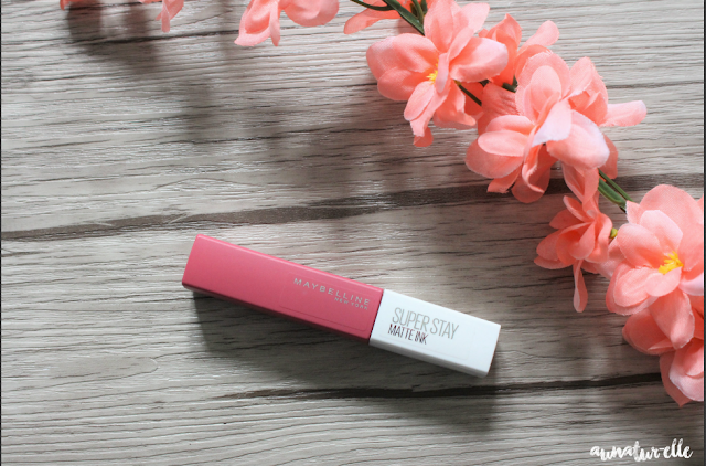 Super Stay Matte Ink de Maybelline : mon avis