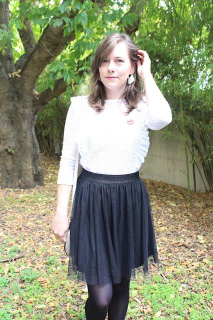 jupe tulle noire