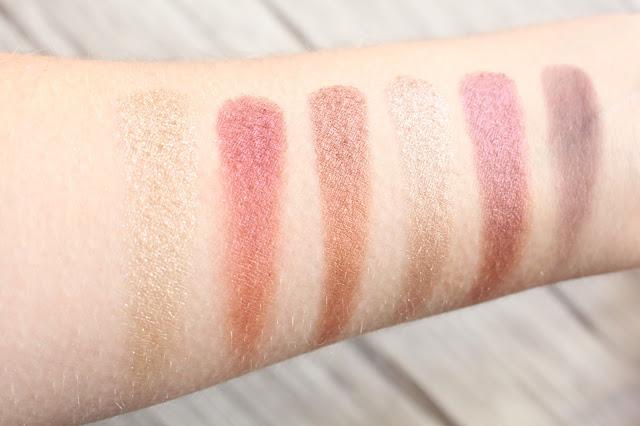 swatch palette burgundy bar