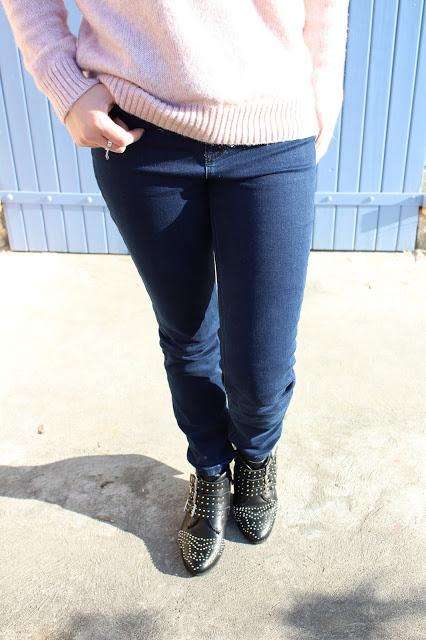 jean skinny taille haute pimkie