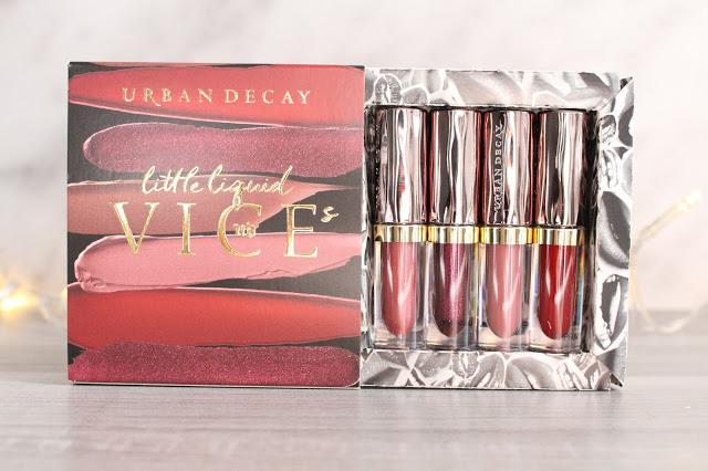 Mon avis sur le coffret de mini Vice Lipstick d'Urban Decay