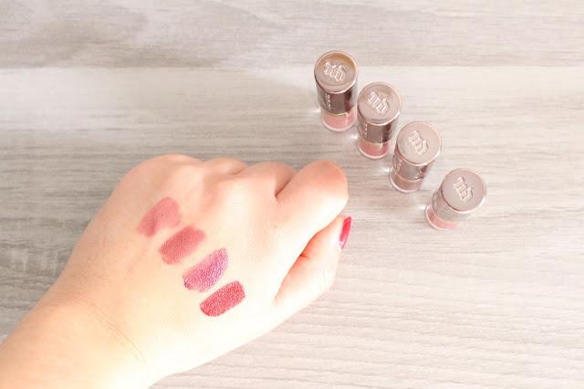 Mon avis sur le coffret de mini Vice Lipstick d'Urban Decay + swatchs
