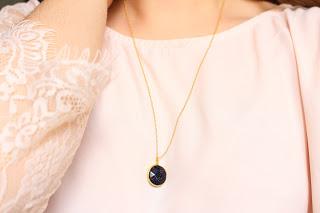 collier doré Agathe - aunaturelle créations