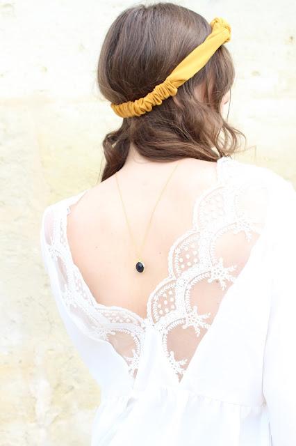 La blouse blanche en dentelle Edith - easy clothes