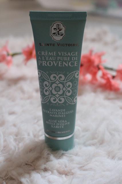 crème visage à l'eau pure de provence - Sainte Victoire