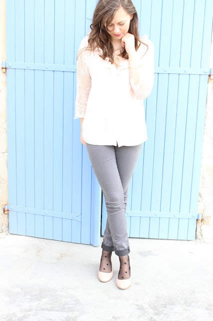 spring woman outfit