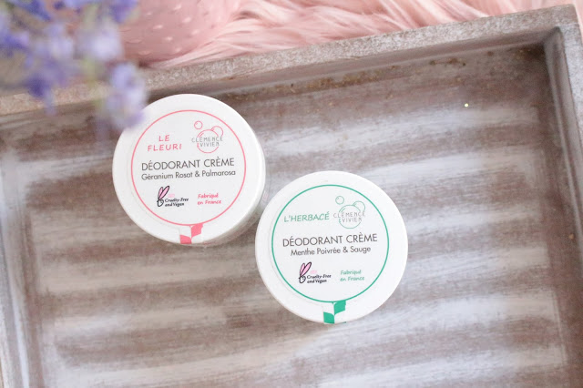avis déodorant clémence & vivien, le fleurie & l'herbacé