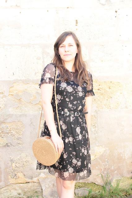 robe fleurie camaieu