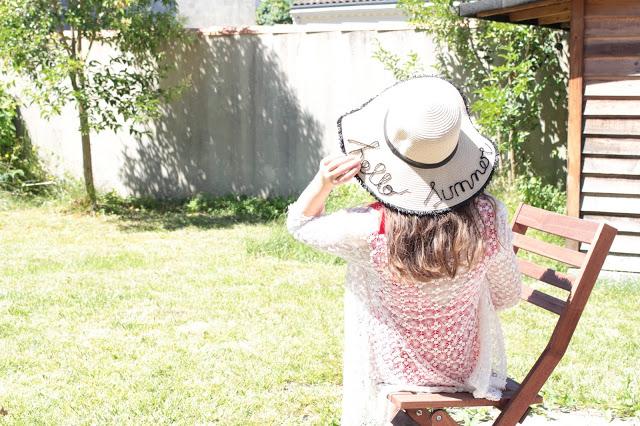 chapeau de paille hello summer