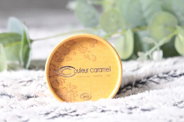 poudre libre matifiante bio couleur caramel